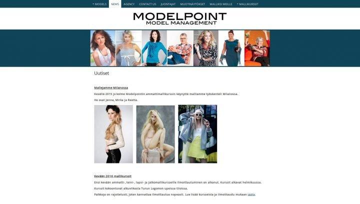Mallitoimisto Modelpoint